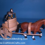 Craft Stick Chariot