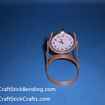 Popsicle Stick Pocket Watch Holder