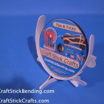 Craft Stick DVD Holder