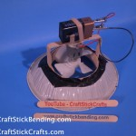 Craft Stick Hover Craft