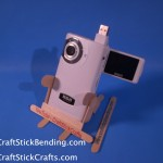Craft Stick Camera Stand