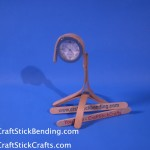Popsicle Stick Watch Stand