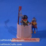 Craft Stick Guard House