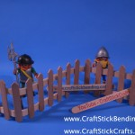 Craft Stick Fencing
