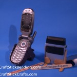 Craft Stick Phone Stand