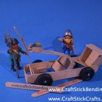 Pinewood Craft Stick Catapult