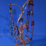 Craft Stick Jewelry Stand