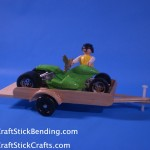 Craft Stick Trailer
