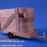 Craft Stick Horse Trailer