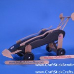 Craft Stick Derby Car Lift