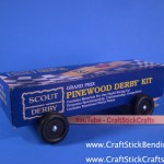 Pinewood Derby Box Car