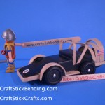 Craft Stick Derby Car