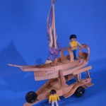 Craft Stick Sail Boat