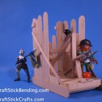 Craft Stick Sedge Catapult