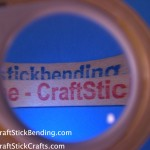 "See YouTube ""CraftStickCrafts"""