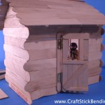 My Craft Stick House