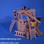 Build a Craft Stick House