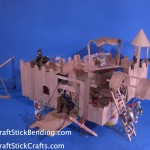 Craft Stick Castle