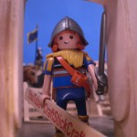 Craft Stick Playmobil Knight