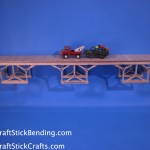 Popsicle Stick Bridge View 3