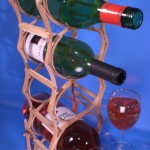 Popsicle Stick Bridge & Wine