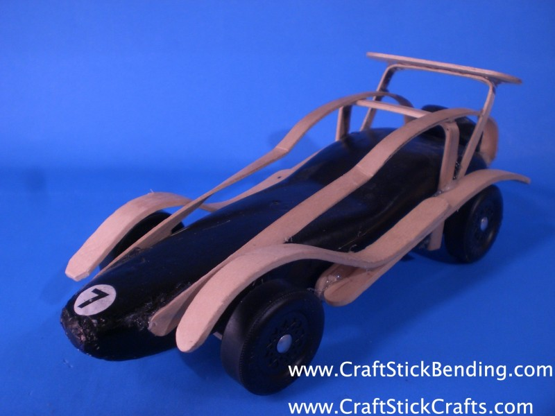 Craft Stick Bending & Crafts Stick Crafts Projects for Kids
