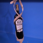 Craft Stick Wine Bottle Holder
