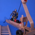 Craft Stick Marble Catapult