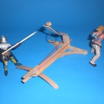 Craft Stick Catapult & Cross Bow