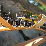 Craft Stick Train Bridge