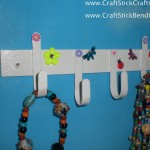 Popsicle Sticks Jewery Hooks