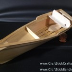 Craft Stick Small Rowboat