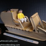 Craft Stick Crafts Sled