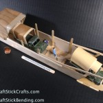 Craft Wood Army Barge