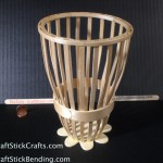 Tongue Dressor & Coffe Sticks Basket