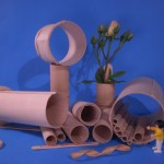 Basswood Tube Toy Parts