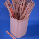 Basswood Pencil Holder