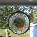 Yard Stick Stain Glass Plate