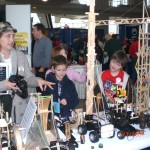 Craft Stick Engineering Display At Engineering Fair Seattle Museum Of Flight 2009