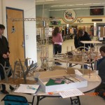 Craft Stick Bridge Building & Engineering Kent WA School District