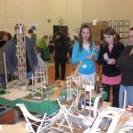 Craft Stick Engineering At Cascade Ridge Science Fair 2011