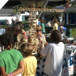 Craft Stick Engineering At Clallam County Fair