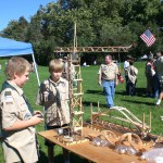 Craft Stick And Scout Engineering Table