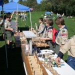 Craft Sticks Engineering Table Merit Badge 2011