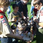 Craft Sticks & BSA Engineering Merit Badge