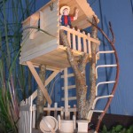 Craft Stick & Branch Tree House